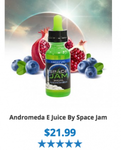 andromeda ejuice vapor review