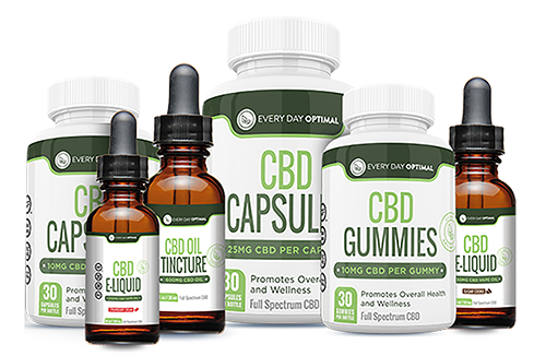 All products from Every Day Optimal CBD